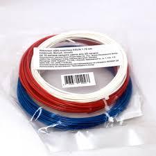 <b>Комплект ABS-пластика ESUN</b> 1.75 мм. для 3D ручек (красный ...