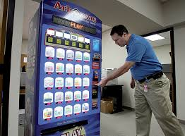 Florida Lotto Vending Machines Delectable Lottery Lands A Big Fish Kroger NWADG
