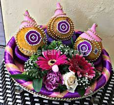 Indian Wedding Tray Decoration indian engagement tray decoration Google Search ROM Ideas 26