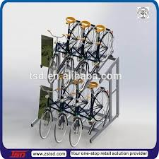 Bicycle Wheel Display Stand Tsdm100 Custom Free Standing Metal Display Stand For Bicycle 54