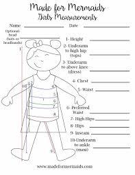 Free Printable Blank Measurement Chart For Boys Girls Women