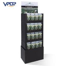 Coffee Shop Display Stands China POS Bag Coffee Display Stand for Trade Show Exhibition 60