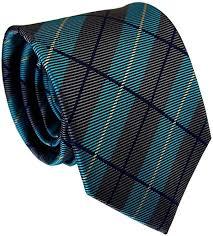 Secdtie <b>Men's Classic</b> Checks Green Black Jacquard Woven Silk <b>Tie</b> ...