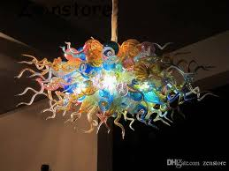luxury new style ceiling chandelier handmade murano glass home decor table for chandelier replacement parts