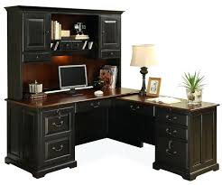 home office desk and hutch. L Shaped Office Desk Workstation Big Corner Home Table . And Hutch