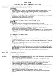 Outside Sales Resume Examples Outside Sales Representative Resume Samples Velvet Jobs 13