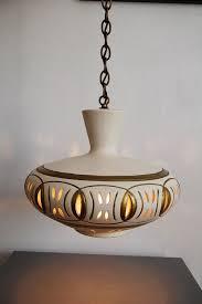 Vintage Mid Century Pendant Light Vintage Mid Century Ceramic Hanging Swag Pendant Light