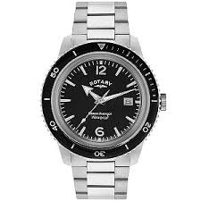 rotary watches ernest jones rotary ocean avenger men s stainless steel bracelet watch product number 2866811
