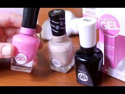 gel nail polish with no l review