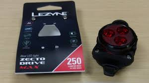 Lezyne Zecto Max Drive 250 Rear Light 2017 Lezyne Zecto Drive Max 250lumens Max 24h Max