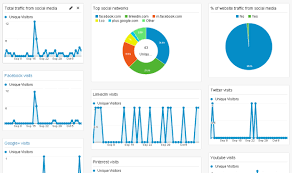 Social Media Google Analytics Dashboard Find Out What Social
