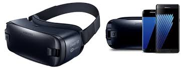 samsung vr headset. samsung gear vr \u2013 virtual reality headset latest edition for galaxy s7 edge \u0026 note 7 vr t