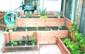 outdoor patio and backyard medium size patio backyard cedar garden planter flower boxes wood window box