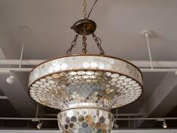 whimsical mirrored mosaic suspension or disco ball 3