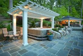 patio ideas with hot tub. Simple Ideas For Patio Ideas With Hot Tub
