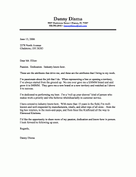 An Example Of A Good Cover Letter Resume Cover Letter Template