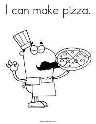 Small Picture I can make pizza Coloring Page Twisty Noodle