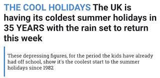 grip of coldest summer holidays