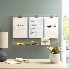 acrylic wall mounted dry erase board