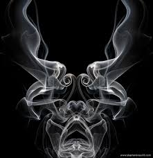 Smoke Creatures - actual smoke formations resemble dark creatures Stephan  Brauchli Photography
