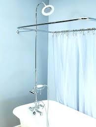 clawfoot bathtub shower curtain bathtub shower