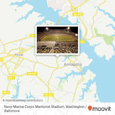 How To Get To Navy Marine Corps Memorial Stadium 550 Taylor