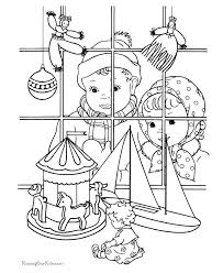 christmas card color pages christmas card coloring page pages merry cards free for kids to
