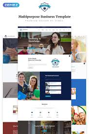 Templates For Education Best Education Website Templates Templatemonster