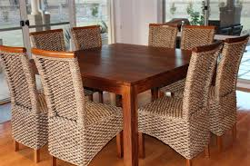 dining room square dining room table good looking custom diy with rattan seats high for leaf