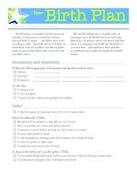 C Section Birth Plan Downloadable Birth Plan Vbhotels Co