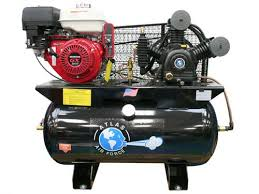 small gas powered air compressor. electric start 30 gallon gas powered air compressor small
