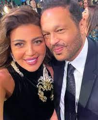 """بحبك يا """"رورو """" ..رجل الأعمال محمد حلاوة يدعم زوجته النجمة ريهام حجاج  برسالة رومانسية - المطور"""