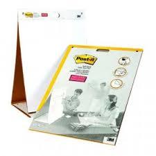 3m Flip Chart Paper Post It Table Top Easel Refill Pad Plain White 563r Code 3m96384