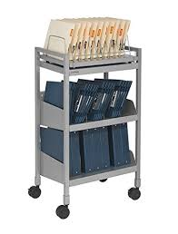 Amazon Com Carstens Flexfit Mobile Chart Rack 2 Shelf