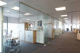 office partitions with doors. Frosted Glass, As The Film Will Simply Hold All Shards In Place Until You Can Get It Repaired Or Replaced. This Makes Partitions A Highly Safe Office With Doors