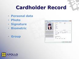 Personal Info Cards Cardholder Configuration An In Depth Guide Overview Main Module For