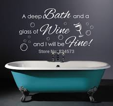 bathroom quot mission linen:  images about bathroom quotes on pinterest vinyls toilets and the bubble