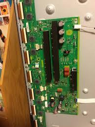 7 Blinking Lights On Panasonic Plasma Tv I Have A Panasonic Plasma Tc P65s60 That Has A Black Screen