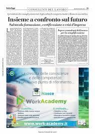 Consulenti del Lavoro - Italia Oggi del 26 ottobre 2021
