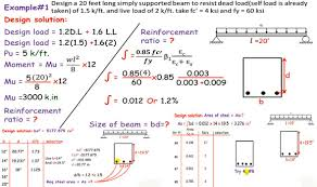 How To Design A 20 Feet Long Simple Supported Beam
