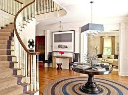 round entry table ideas foyer antique blue entryway