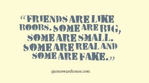 Funny Bad Friendship Quotes