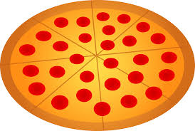 whole pizza clipart. Simple Clipart Whole Pepperoni Pizza Throughout Clipart Z