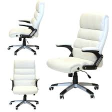 white luxury office chair. Chair Luxury Leather Executive Reclining Swivel Office Study White  Chairs Picture Design N