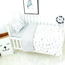 cloud crib bedding set