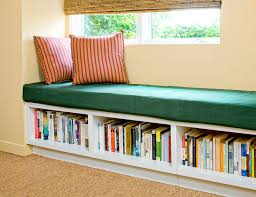 Window seat with storage Diy Build In Storage Open Cubbies Huffpost Windowseat Storage Ideas Youll Love Huffpost