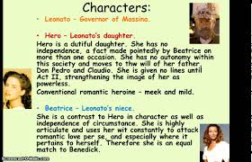much ado about nothing characters and theme gcse revision