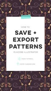 How To Create Pattern In Illustrator