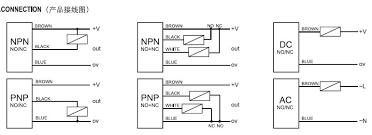m30 npn pnp capacitive proximity sensor switch,dc12 24v 3 wires 3 Wire Sensor Wiring at 2 Wire Proximity Sensor Wiring Diagram