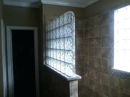 glass block showers glass block shower 1 glass block shower window with vent